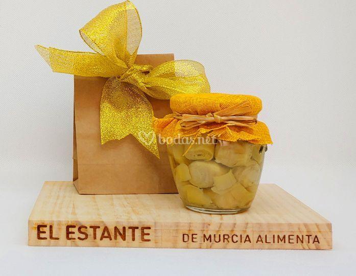 Alcachofa caramelizada