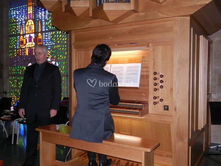Dúo de órgano y voz