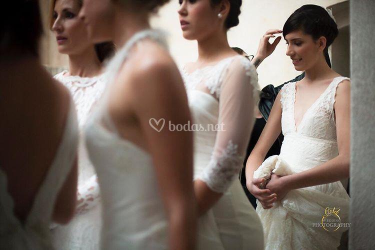 Desfile de novias, maquillaje novias