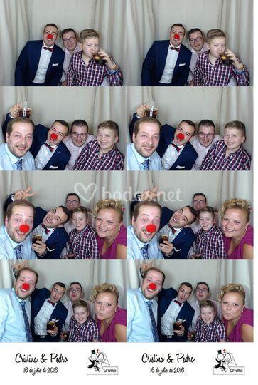 Formato Tira 4 fotos