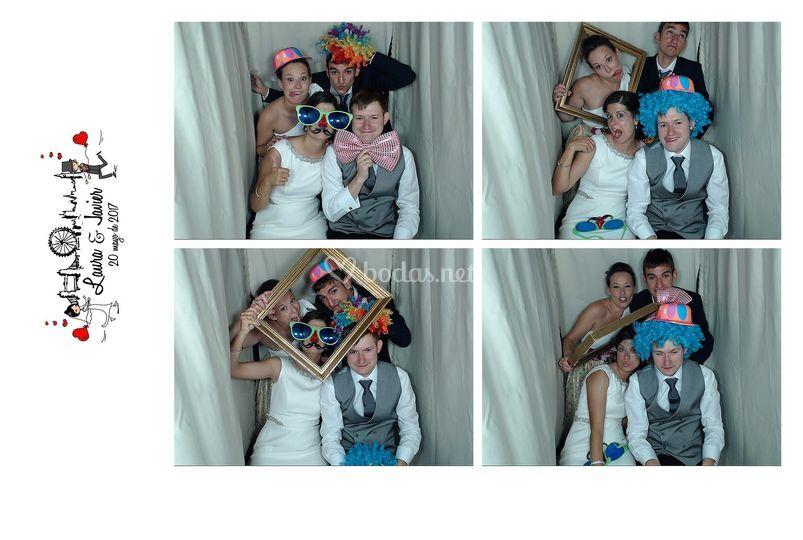 Formato 10x15 4 fotos