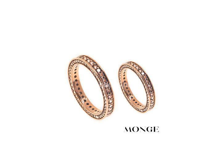 Oro rosa y diamantes