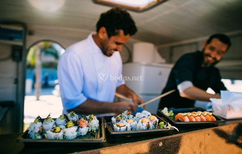 El mejor sushi