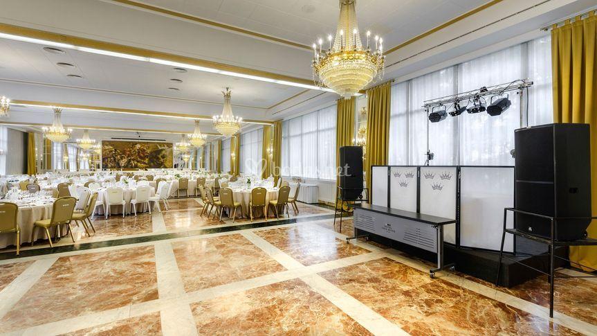 DJ - espacio para el baile