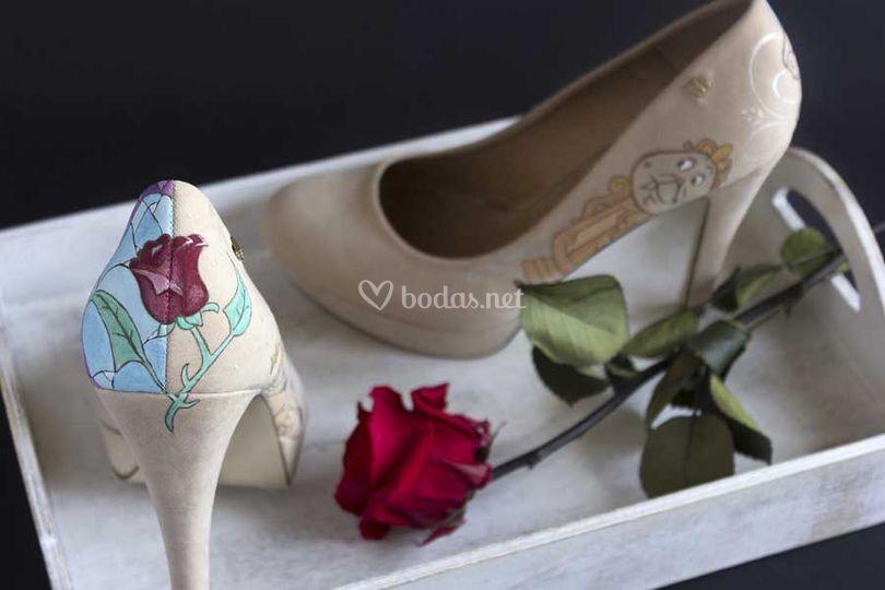 Decoración de zapatos