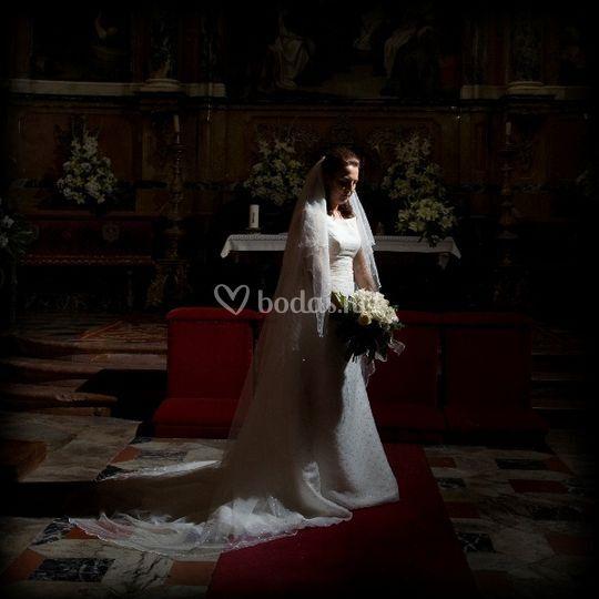 Novia en el altar ©