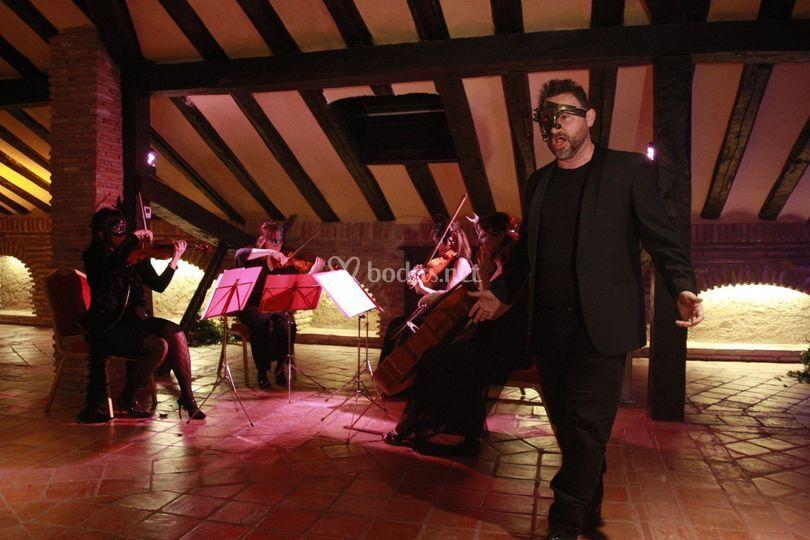Cuarteto clásico y tenor