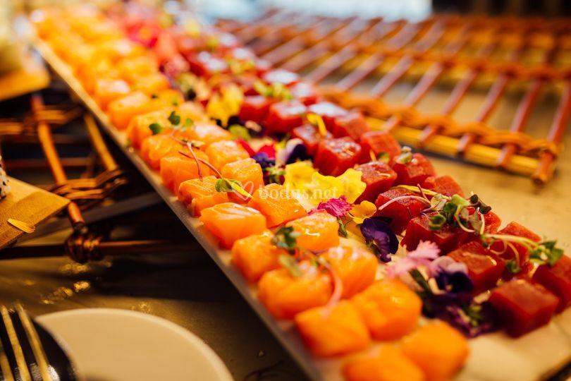 Muelle 21 Gastronomía