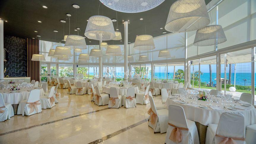Banquete salón interior