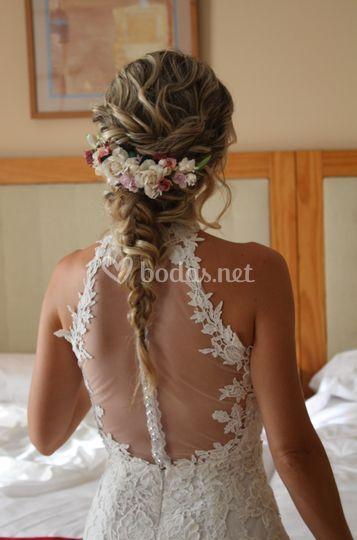 Trenzado de novia