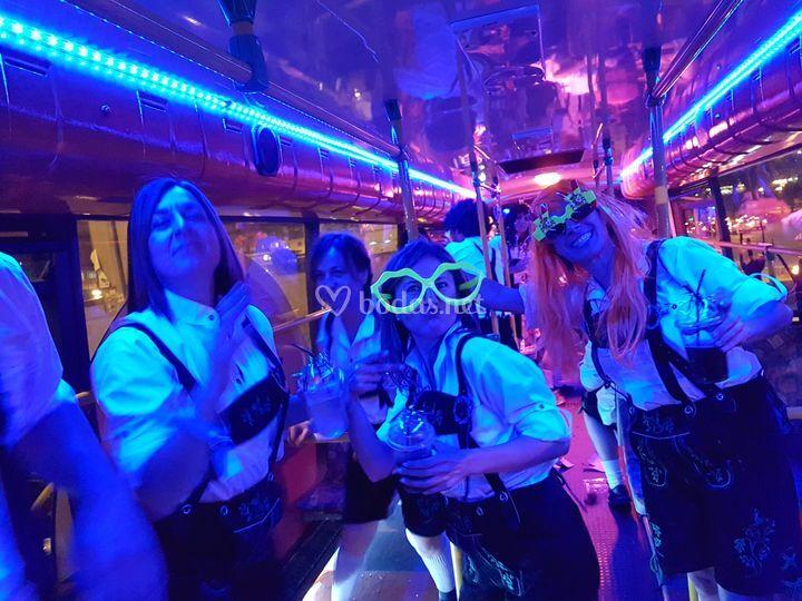 Interior partybus
