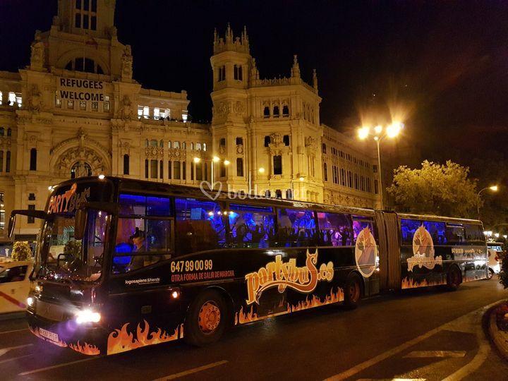 Partybus boda Madrid
