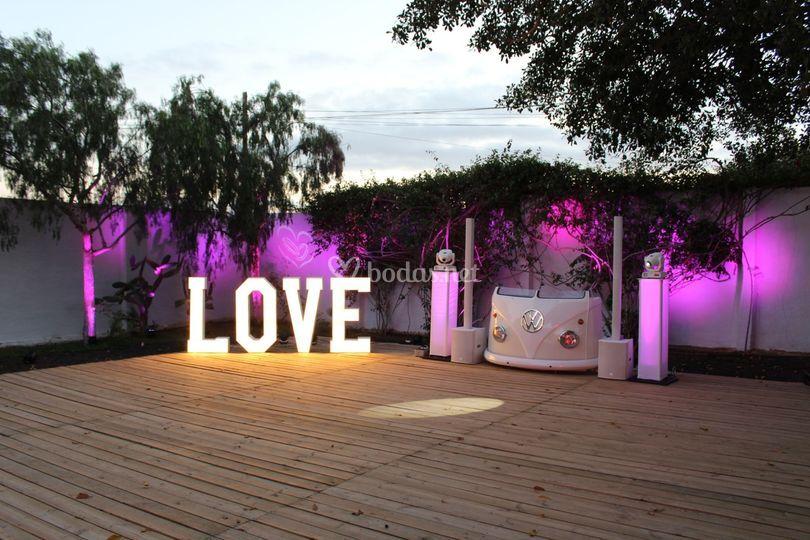 Love y cabina