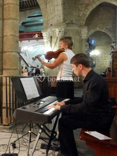 Dúo de violín con piano