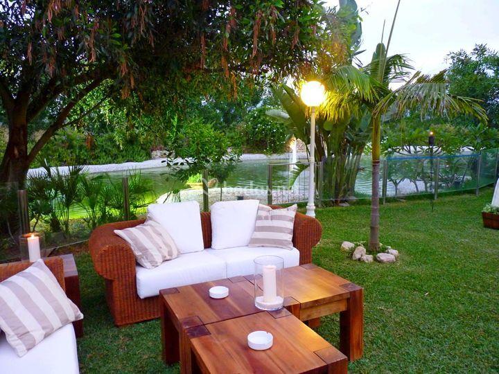 Jardines del trapiche for Jardines exteriores