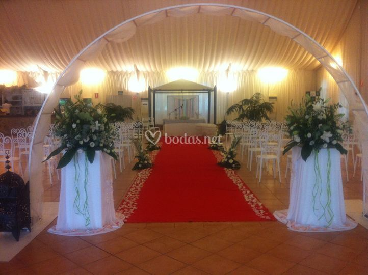 Boda civil interior