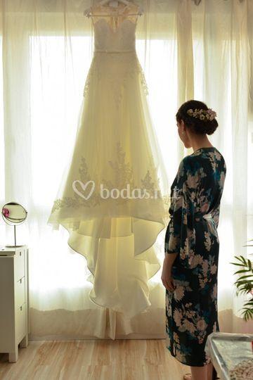El vestido.