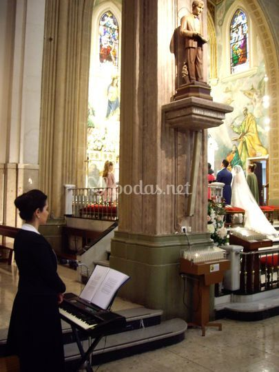 Soprano y organista