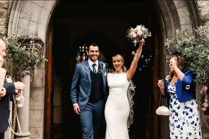 Por fin, casados