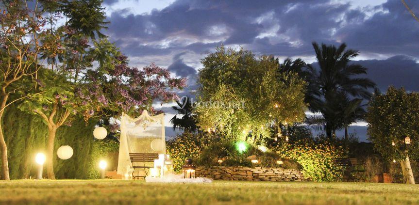 Nuestros jardines de Hacienda las Fuentes