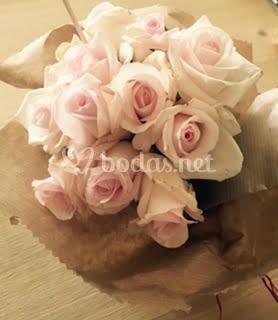 Ramos de rosas rosas