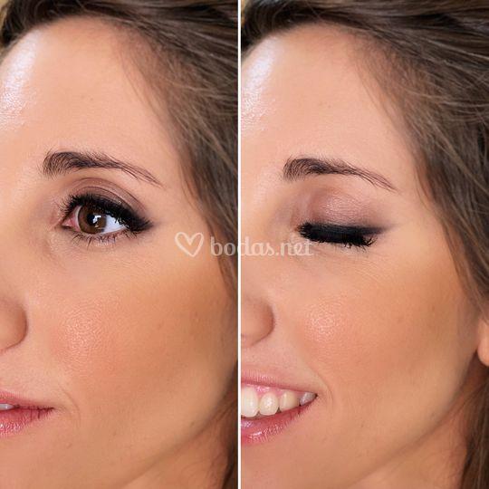 Eye liner difuminado