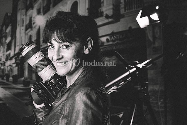 María Águila, videógrafa