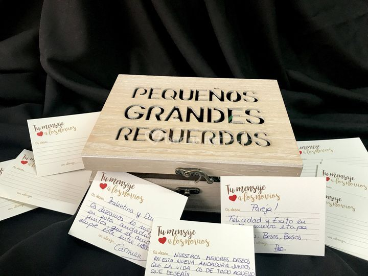 Caja de los buenos recuerdos