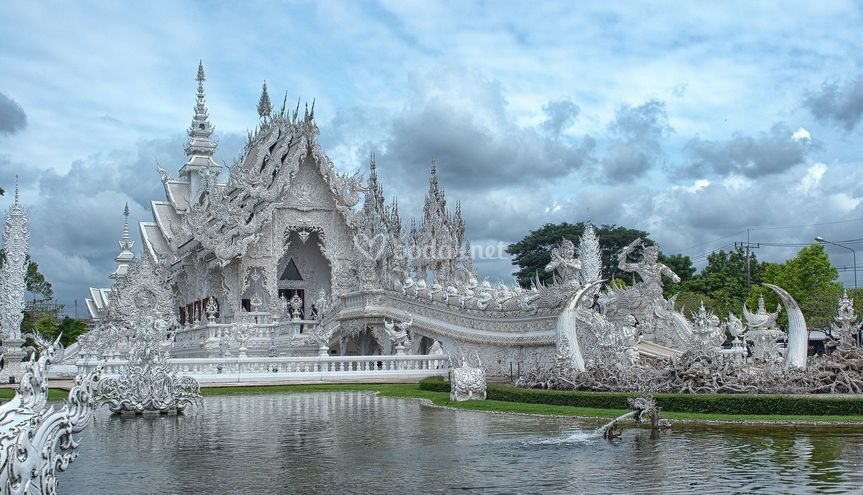 Templo blanco, Tailandia