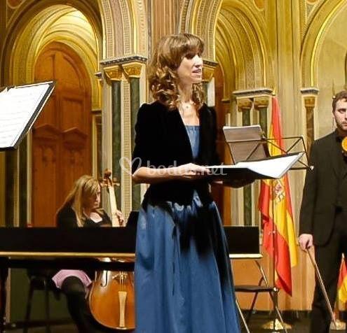 Soprano, Isabel Alcaraz