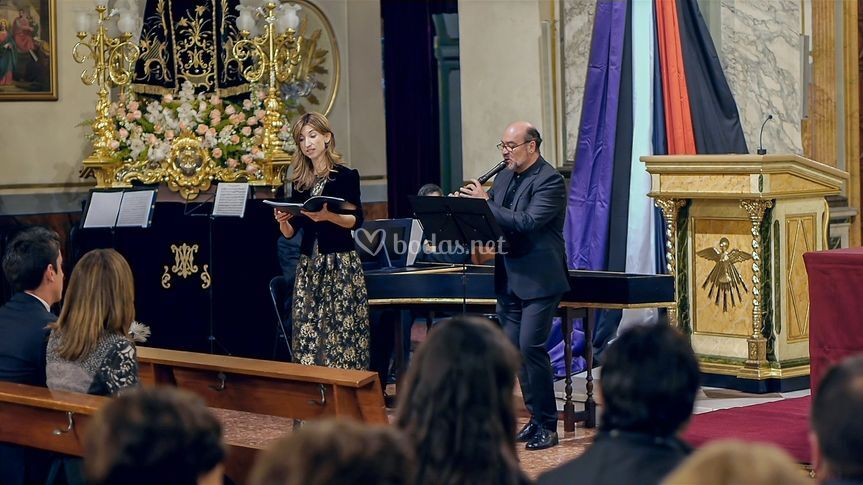 Aria soprano y flautista