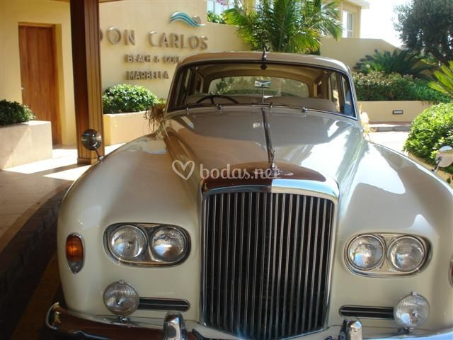 Coche bodas Bentley