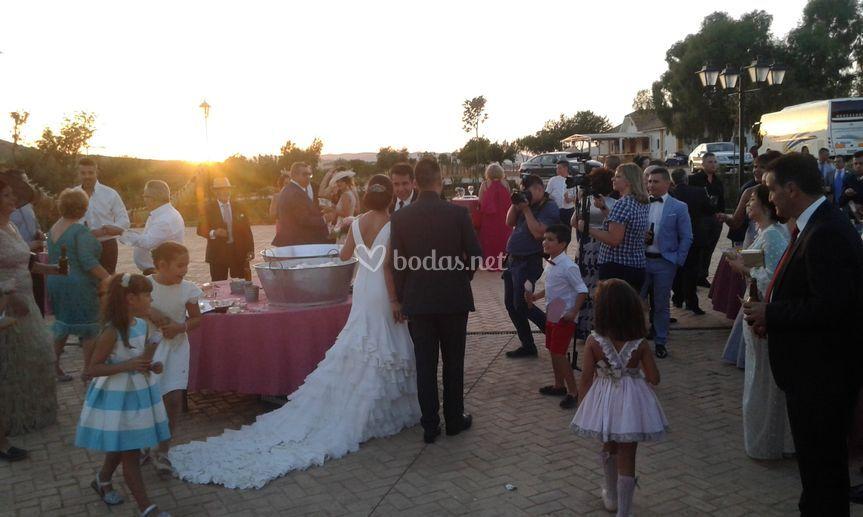Ceremonia en finca La Romera