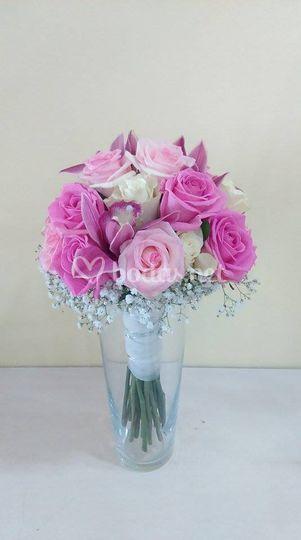Bouquet orquídeas, tocado