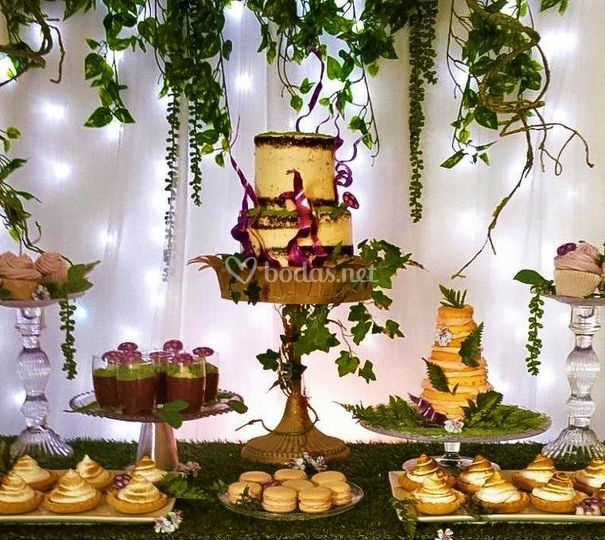Mesa dulce Bosque Encantado