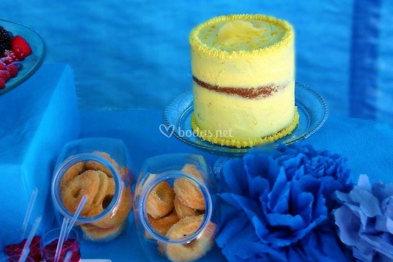 Rosquillas y mini tartas