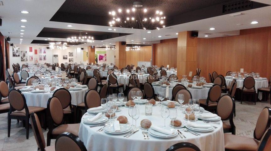 Montaje salón banquetes