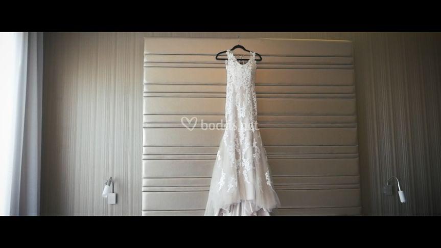 Precioso vestido de novia!