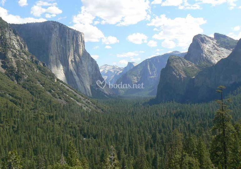 Tunel View-Yosemite