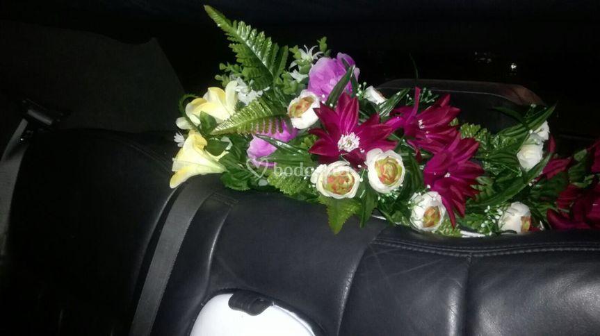 Flores en el interior
