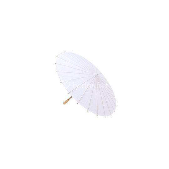 Parasol de papel de bambú