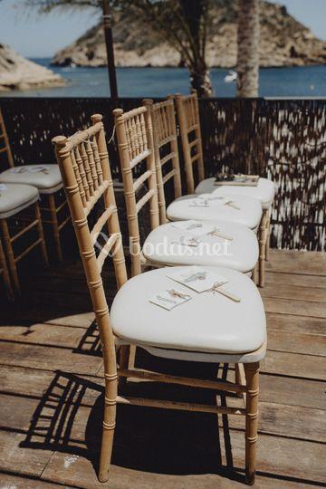 Detalle asientos ceremonia