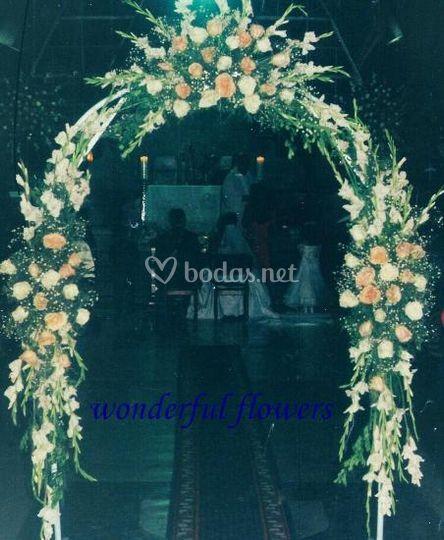 Arco decorativo