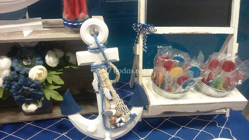 El taller de dulia for Mesa dulce marinera