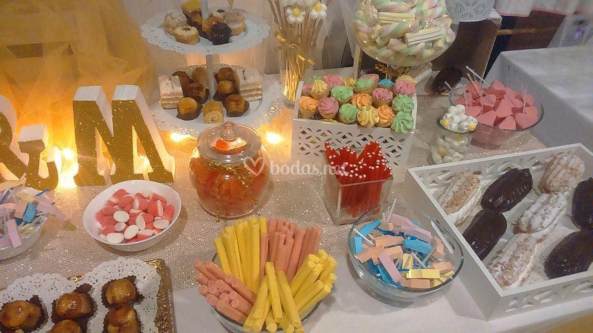 Mesa dulce personalizada