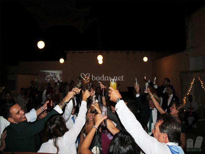 Diversión en bodas