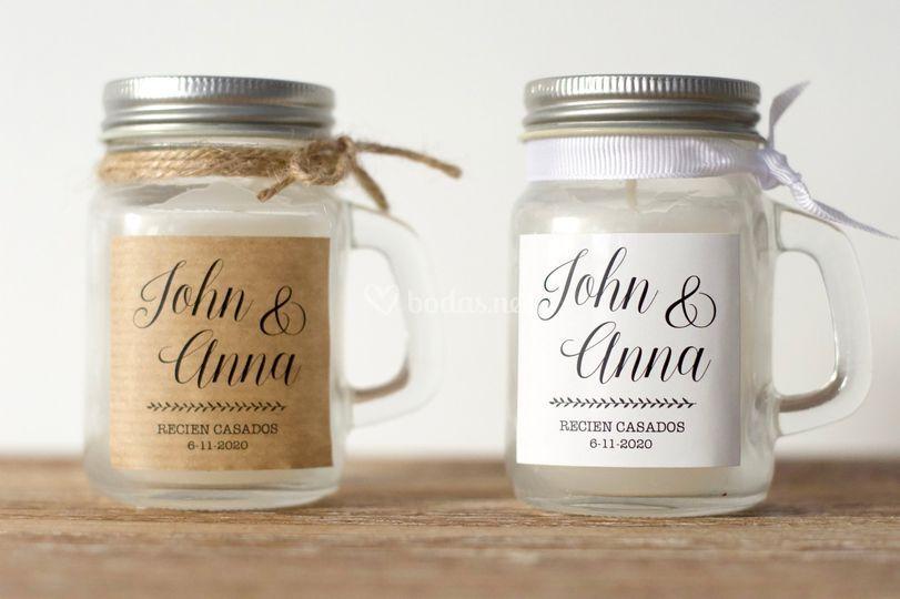 Detalles boda personalizados