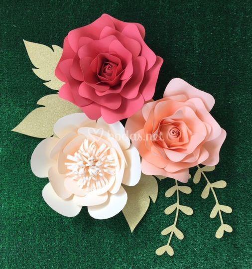 Opciones de flores