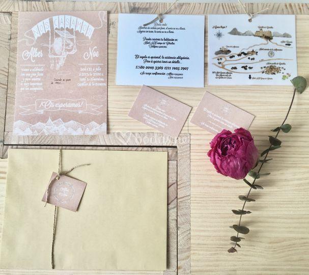Diseño imagen boda