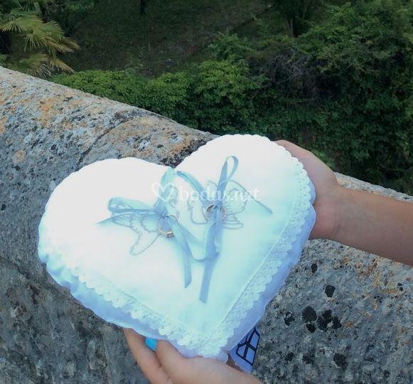 Corazón para anillos